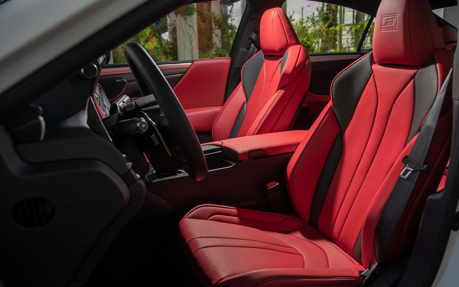 Lexus 2020 Es 350 Fsport Red Interior L