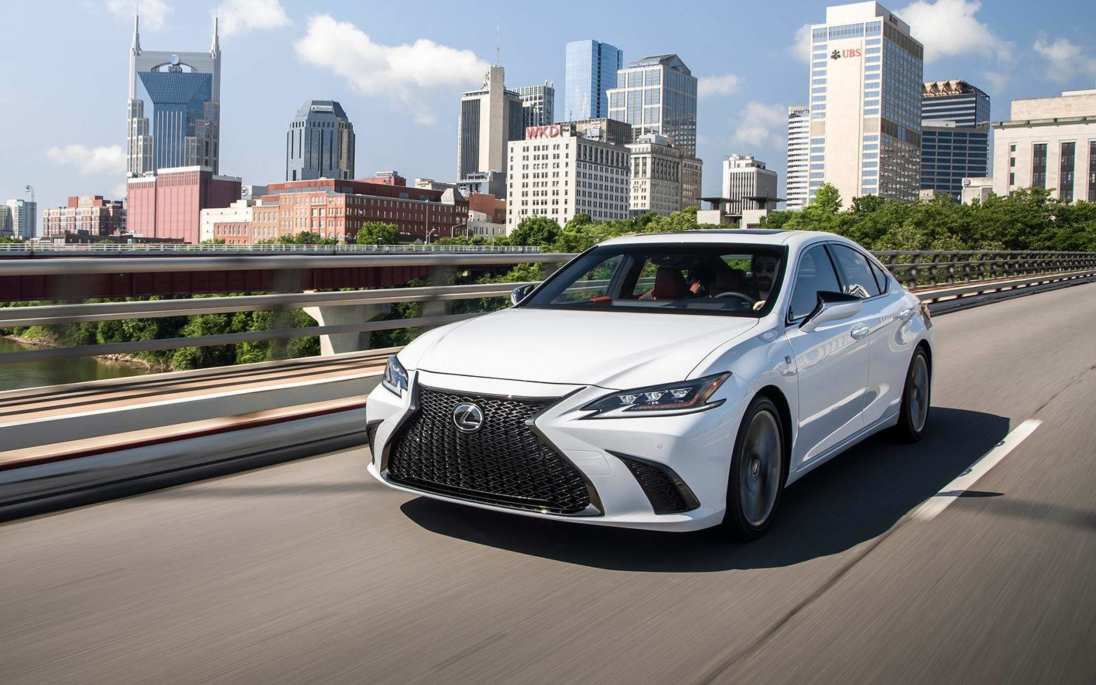 Lexus 2020 Es 350 Fsport Ultra White Front L