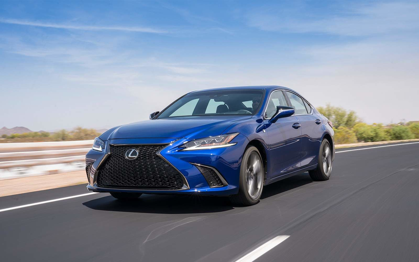 Lexus 2020 Es 350 Fsport Ultrasonic Blue Front L