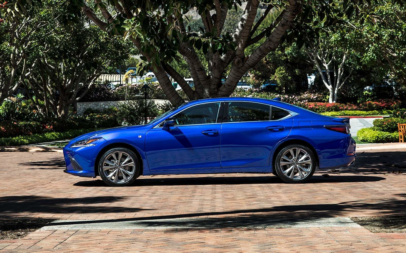 Lexus 2020 Es 350 Fsport Ultrasonic Blue Side L