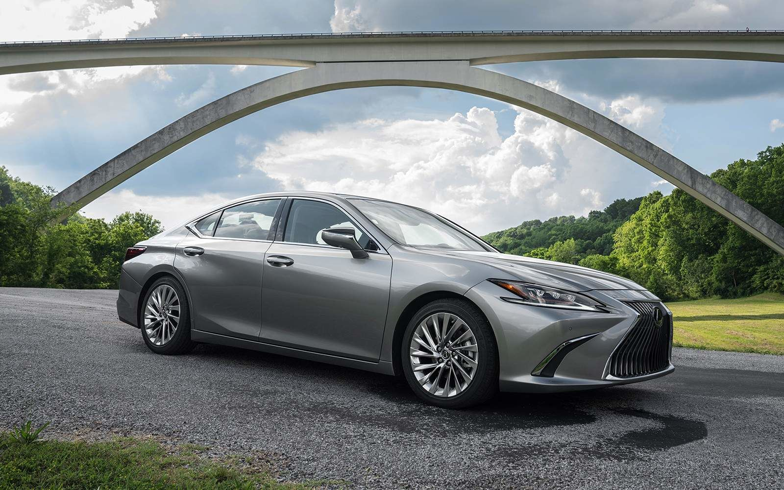 Lexus 2020 Es 350 Ultra Luxury Atomic Silver L