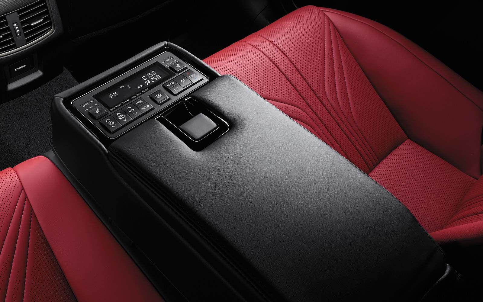 Lexus 2020 Gsf Interior Rear Centre Armrest L