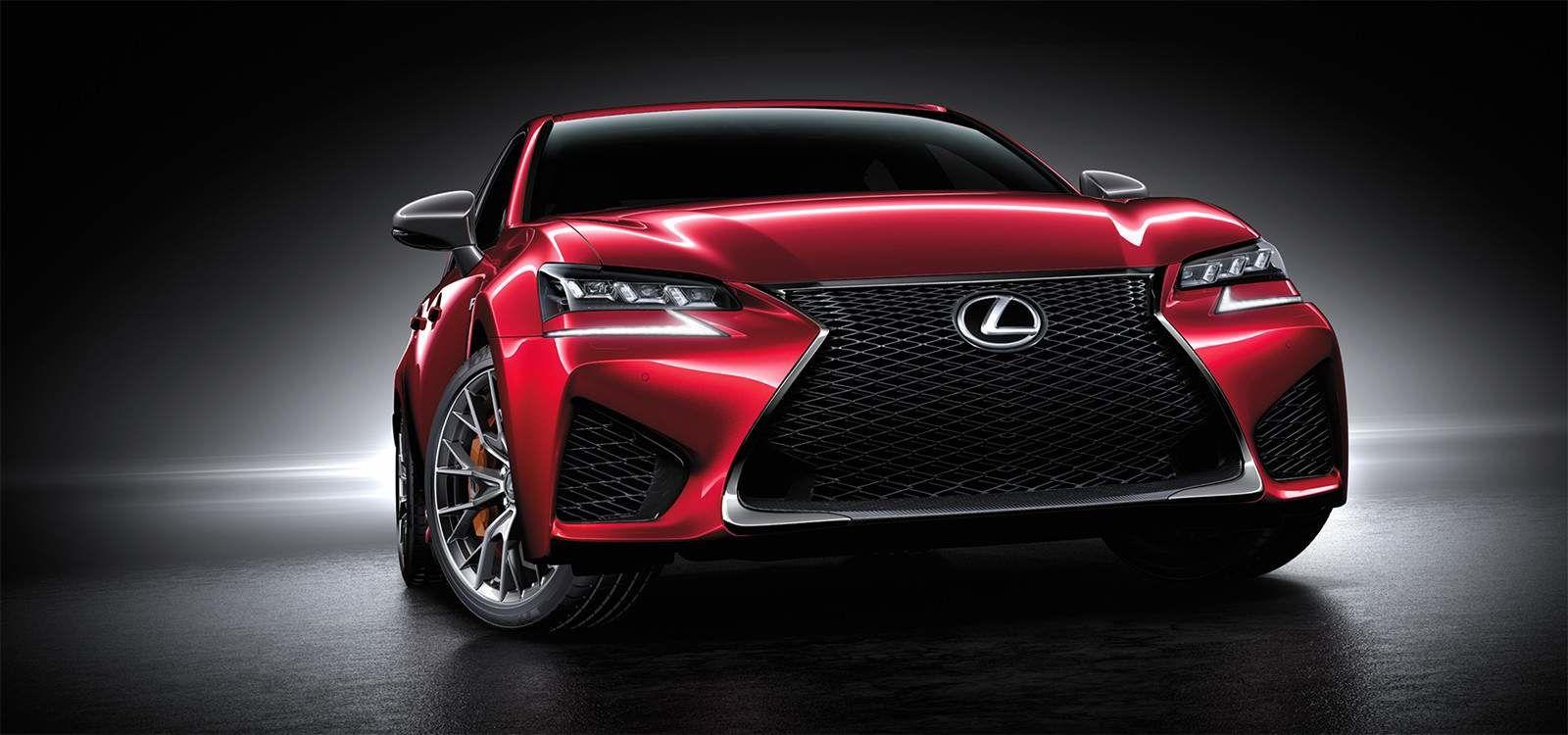 Lexus 2020 Gsf Matador Red Mica L