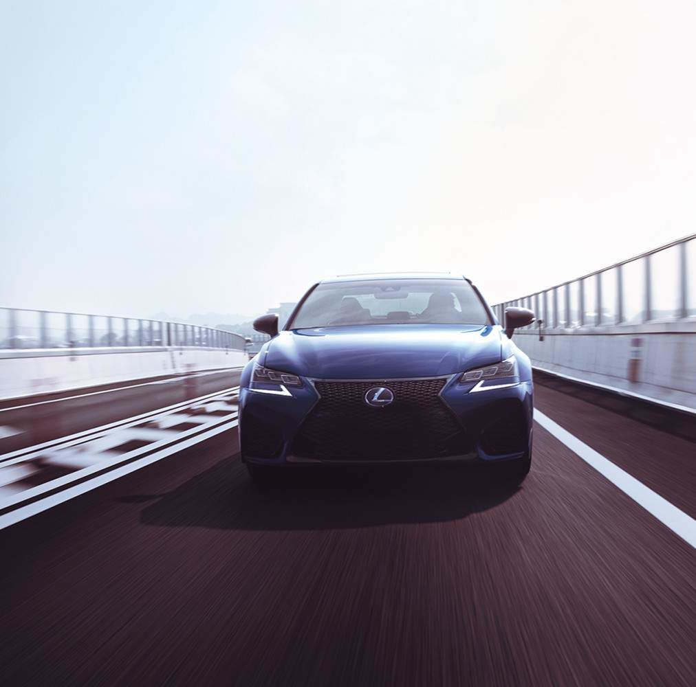 Lexus 2020 Gsf Ultrasonic Blue Mica 2.0 Front L
