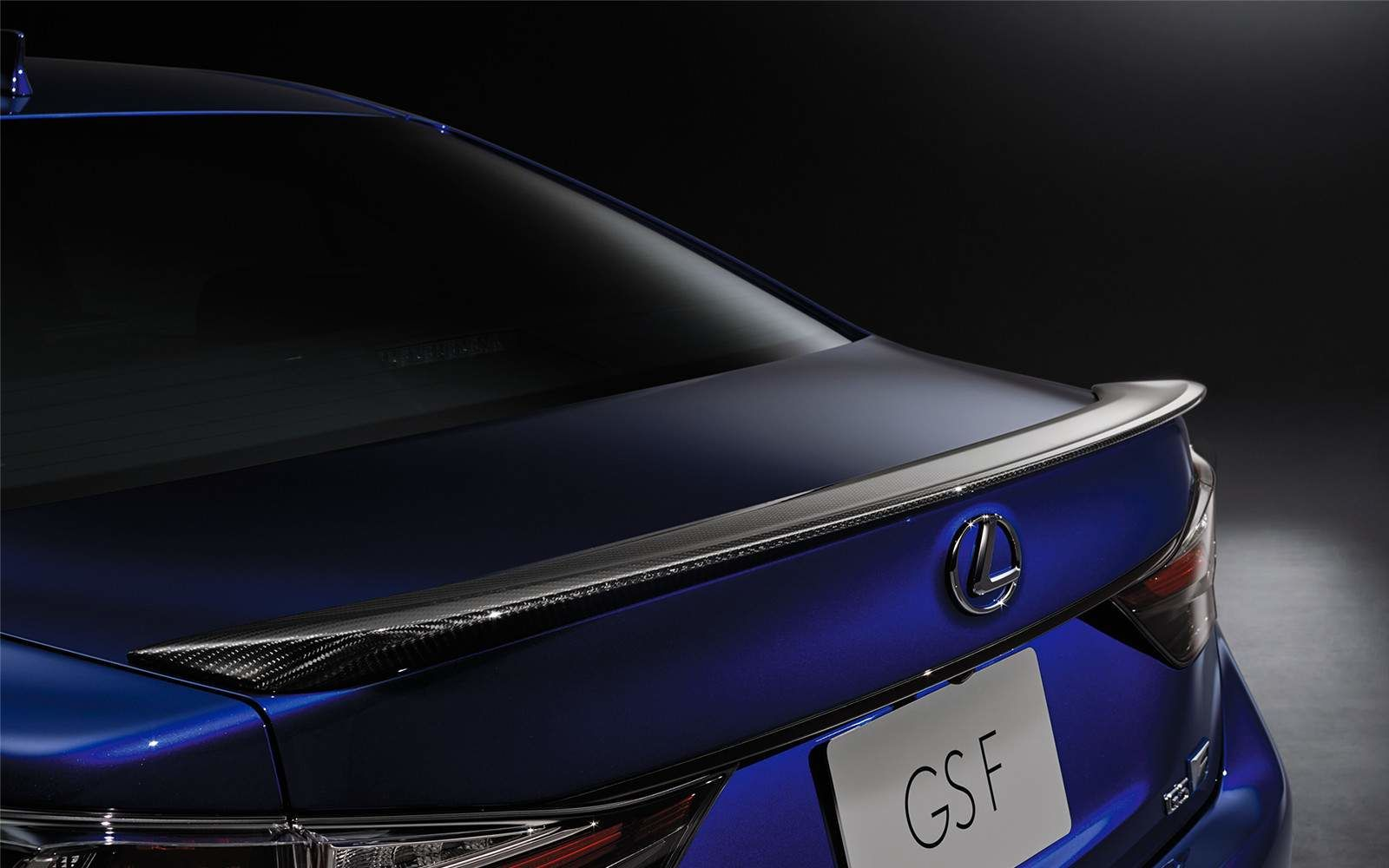 Lexus 2020 Gsf Ultrasonic Blue Mica 2.0 Rear L