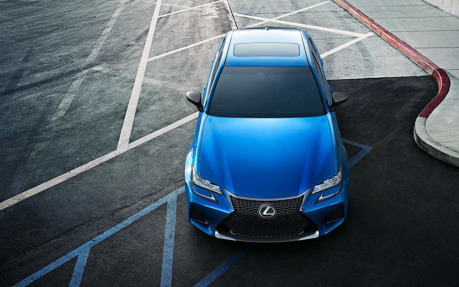 Lexus 2020 Gsf Ultrasonic Blue Mica 2.0 Top L
