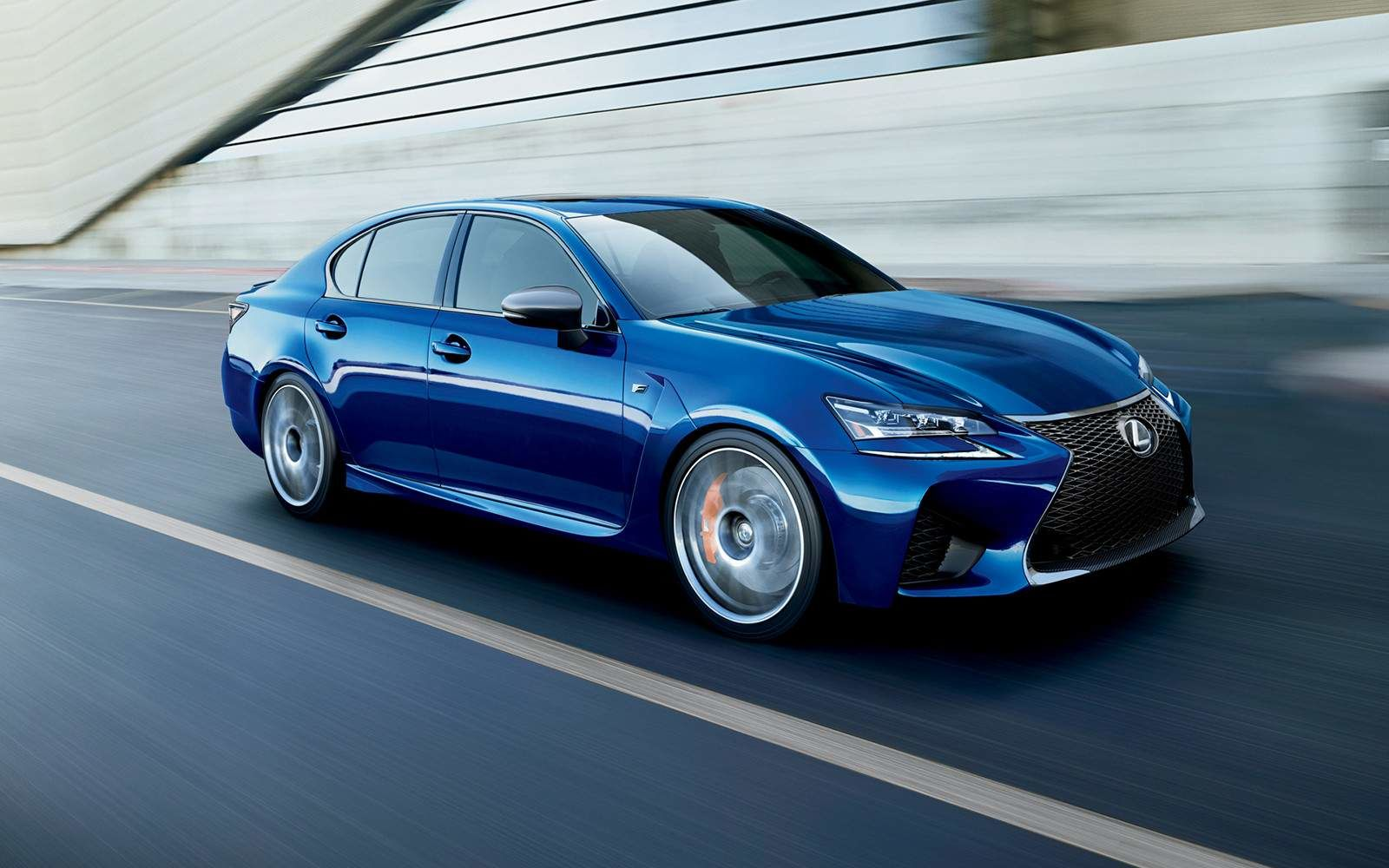Lexus 2020 Gsf Ultrasonic Blue Mica L