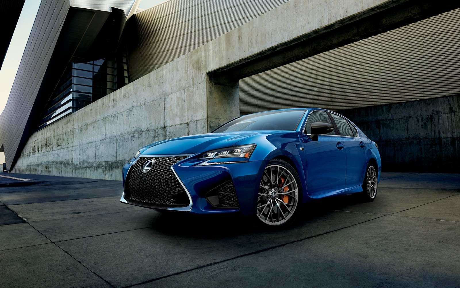 Lexus 2020 Gsf Ultrasound Blue Mica 2.0 Front Right L