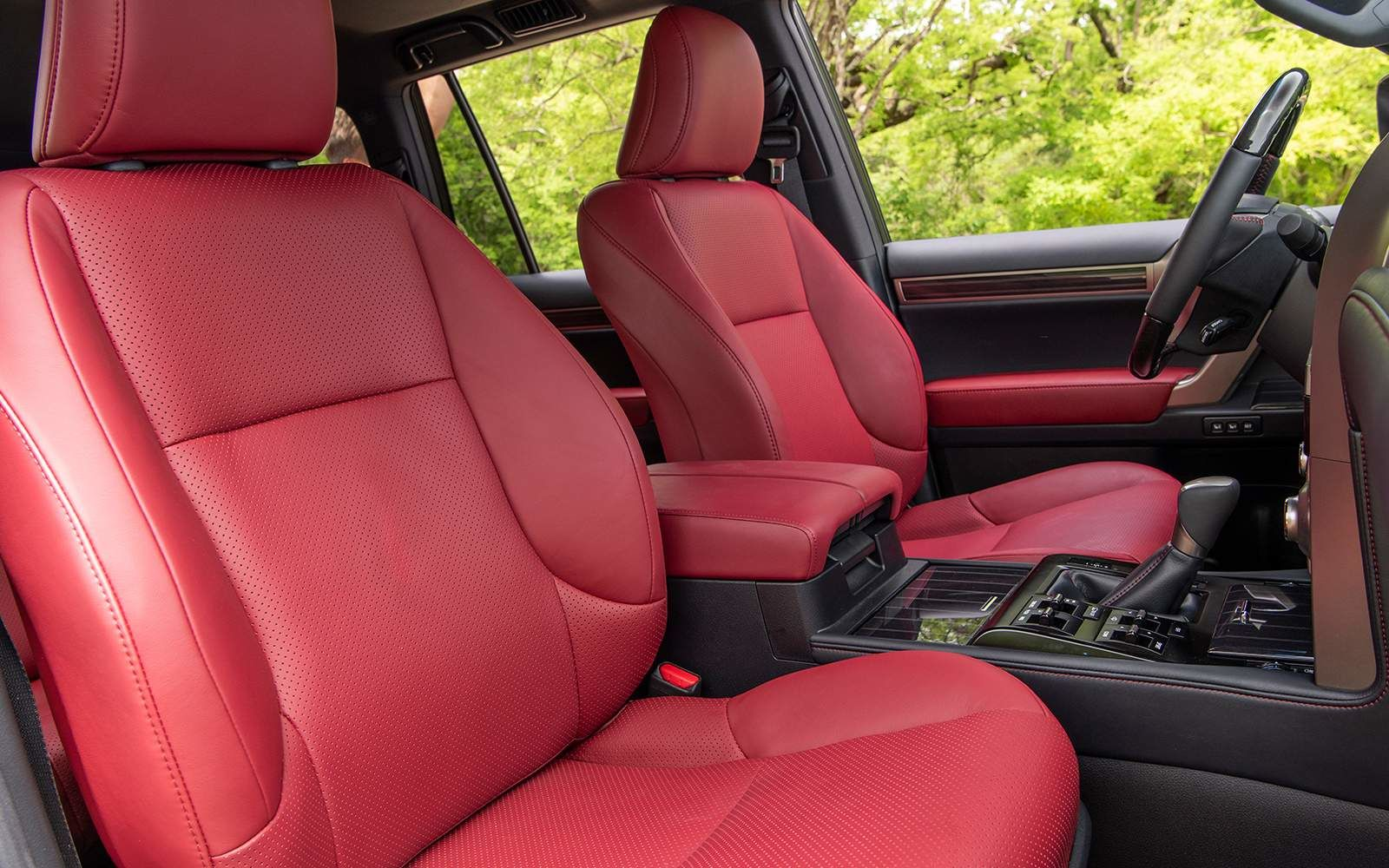 Lexus 2020 Gx 460 Interior Roja Red Premium Leather L