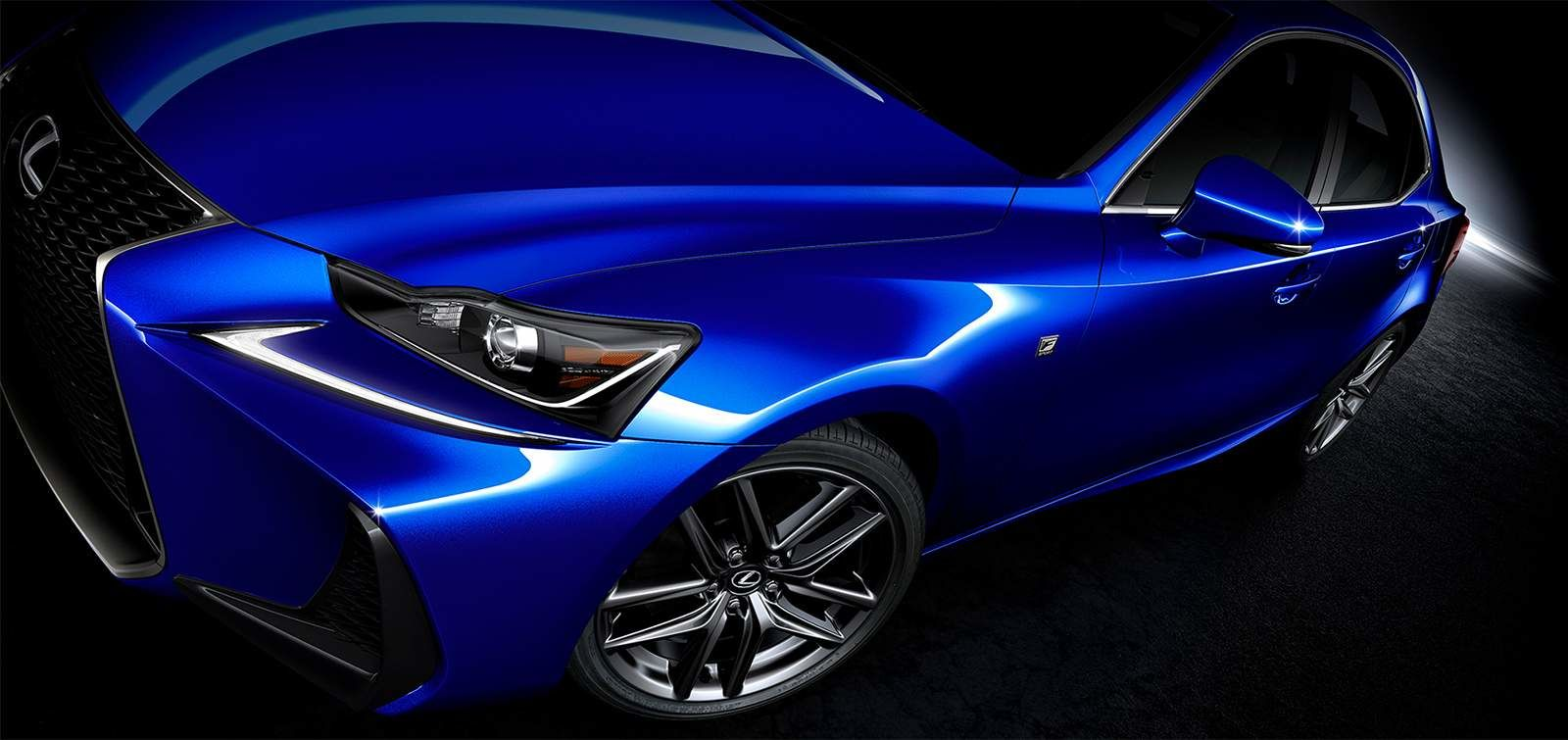 Lexus 2020 Is 300 F Sport Series 2 Ultrasonic Blue Mica 2 0 L