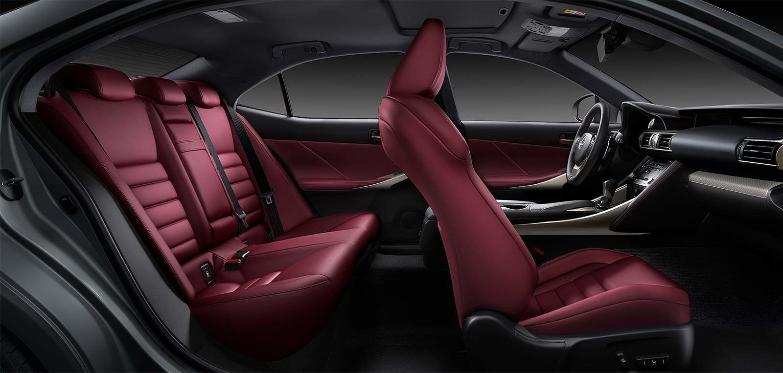 Lexus 2020 Is F Sport Nuluxe Rioja Red Interior L