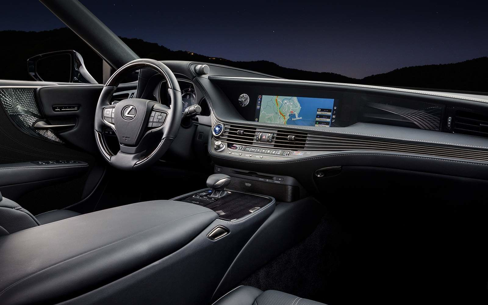 Lexus 2020 Ls 500 Executive Black Interior L