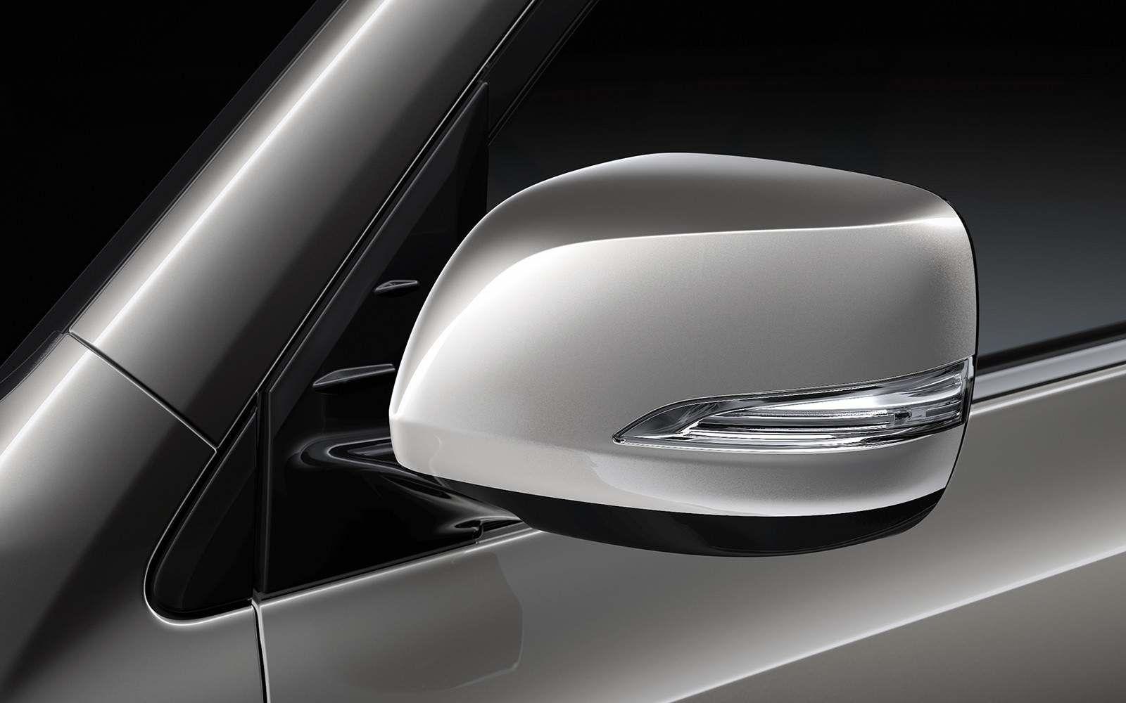 Lexus 2020 Lx 570 Atomic Silver Side Mirror L