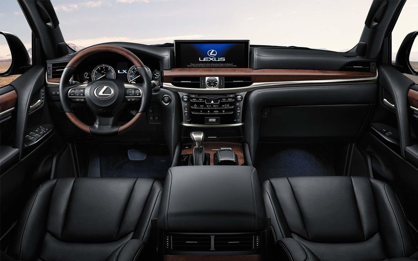 Lexus 2020 Lx 570 Interior Black Leather Dash L