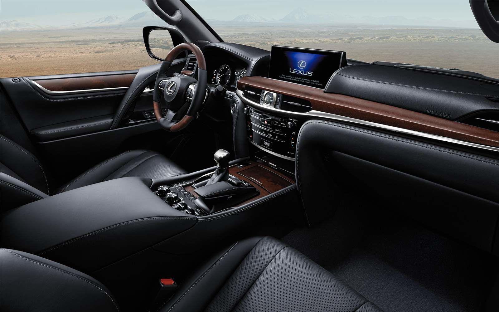 Lexus 2020 Lx 570 Interior Black Leather L