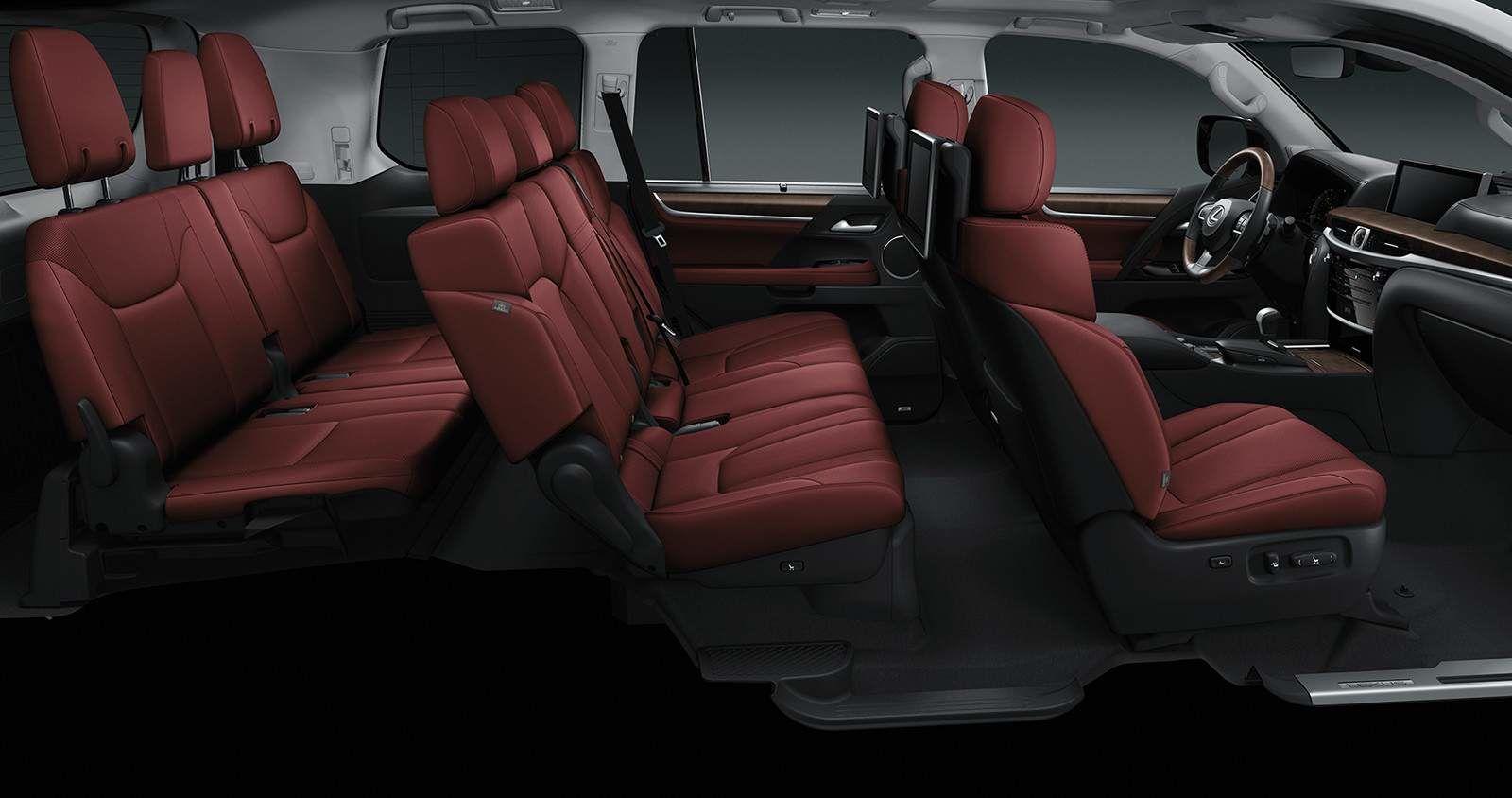 Lexus 2020 Lx 570 Interior Cabernet Leather L