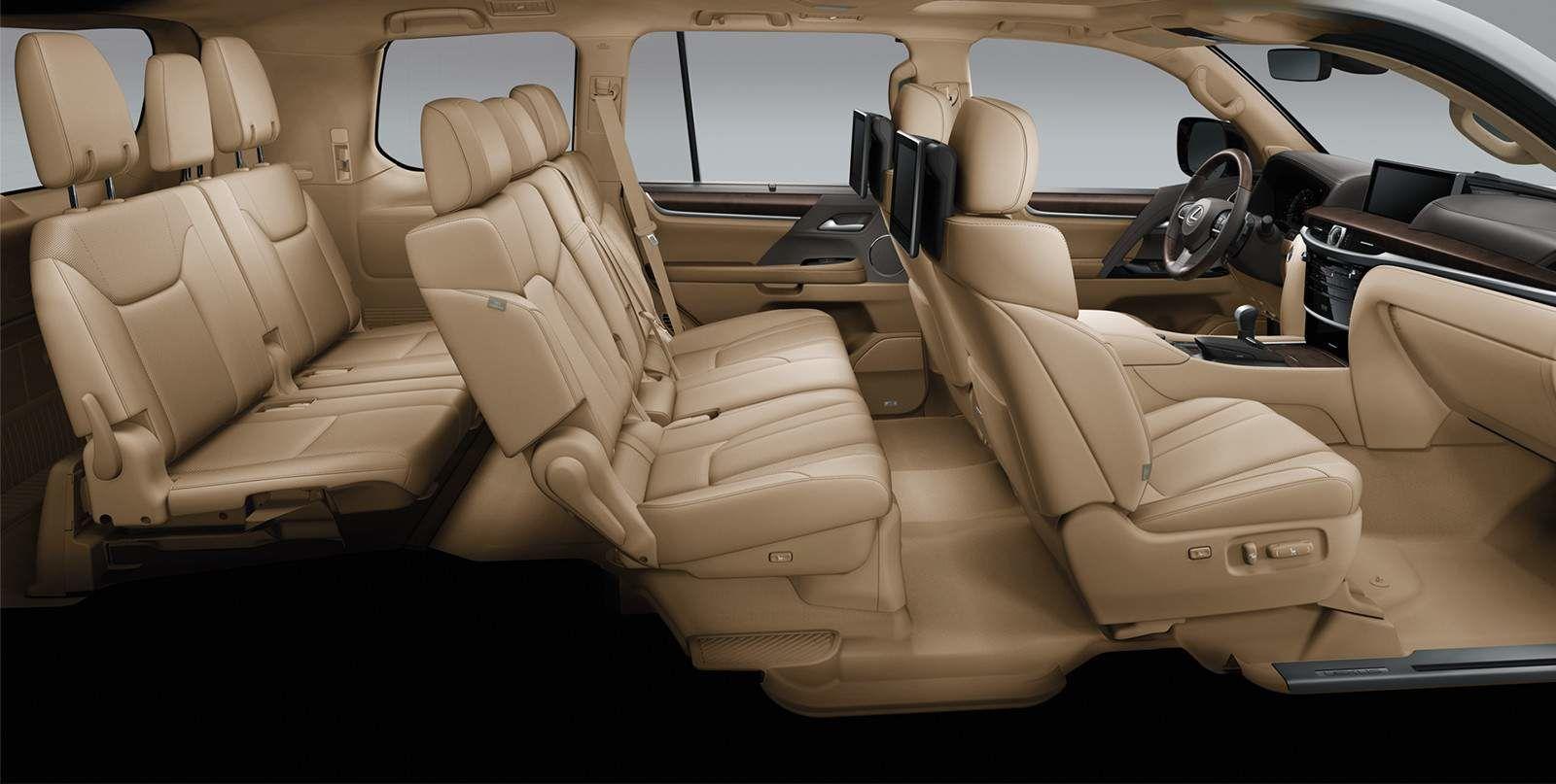 Lexus 2020 Lx 570 Interior Parchment Leather L