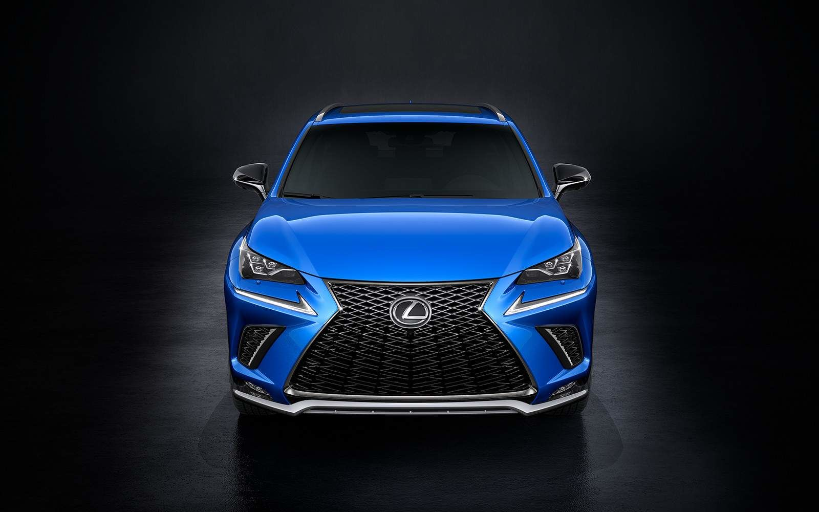 Lexus 2020 Nx 300 Ultrasonic Blue Front L