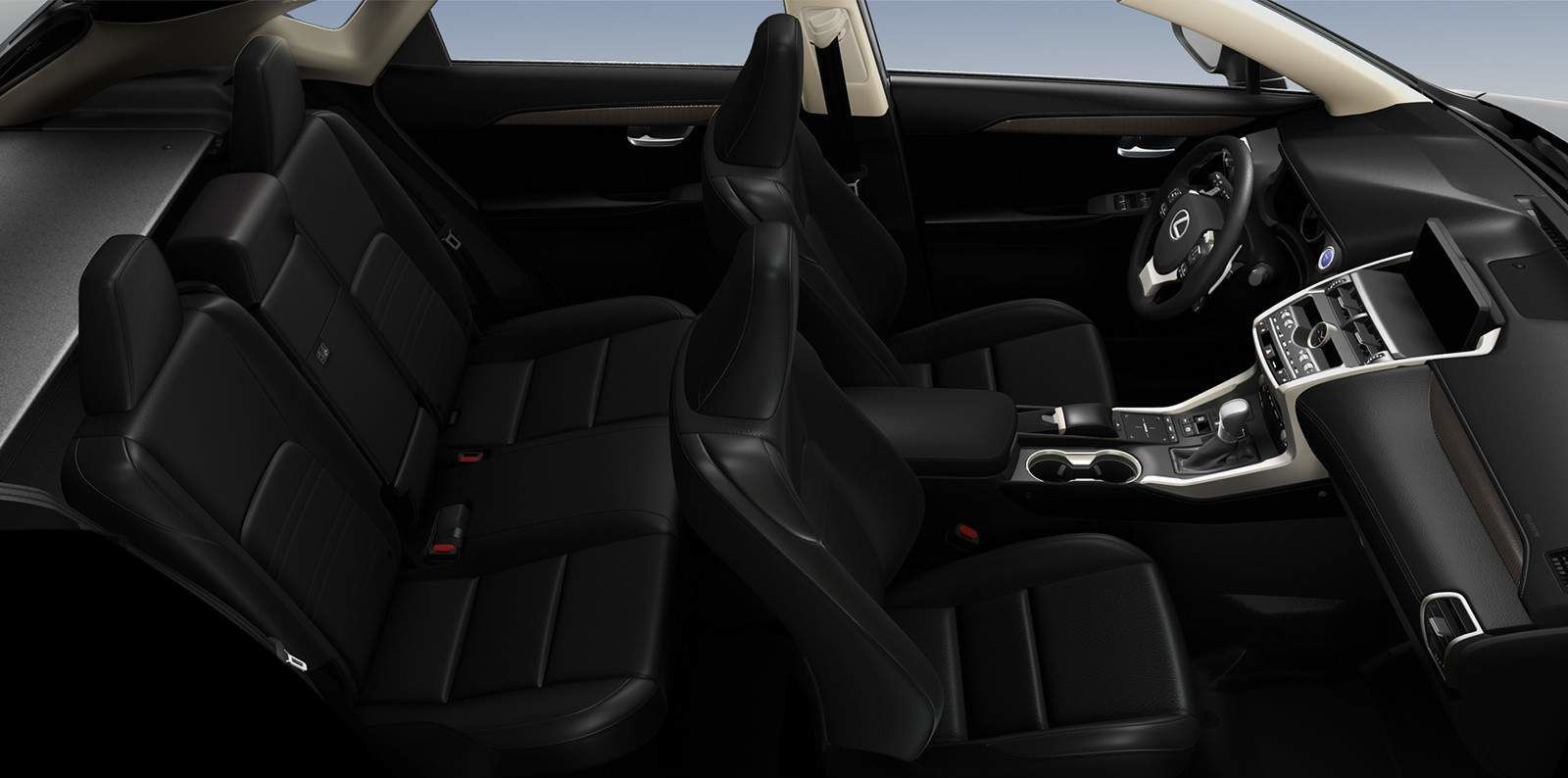 Lexus 2020 Nx 300h Black Nuluxe Interior L