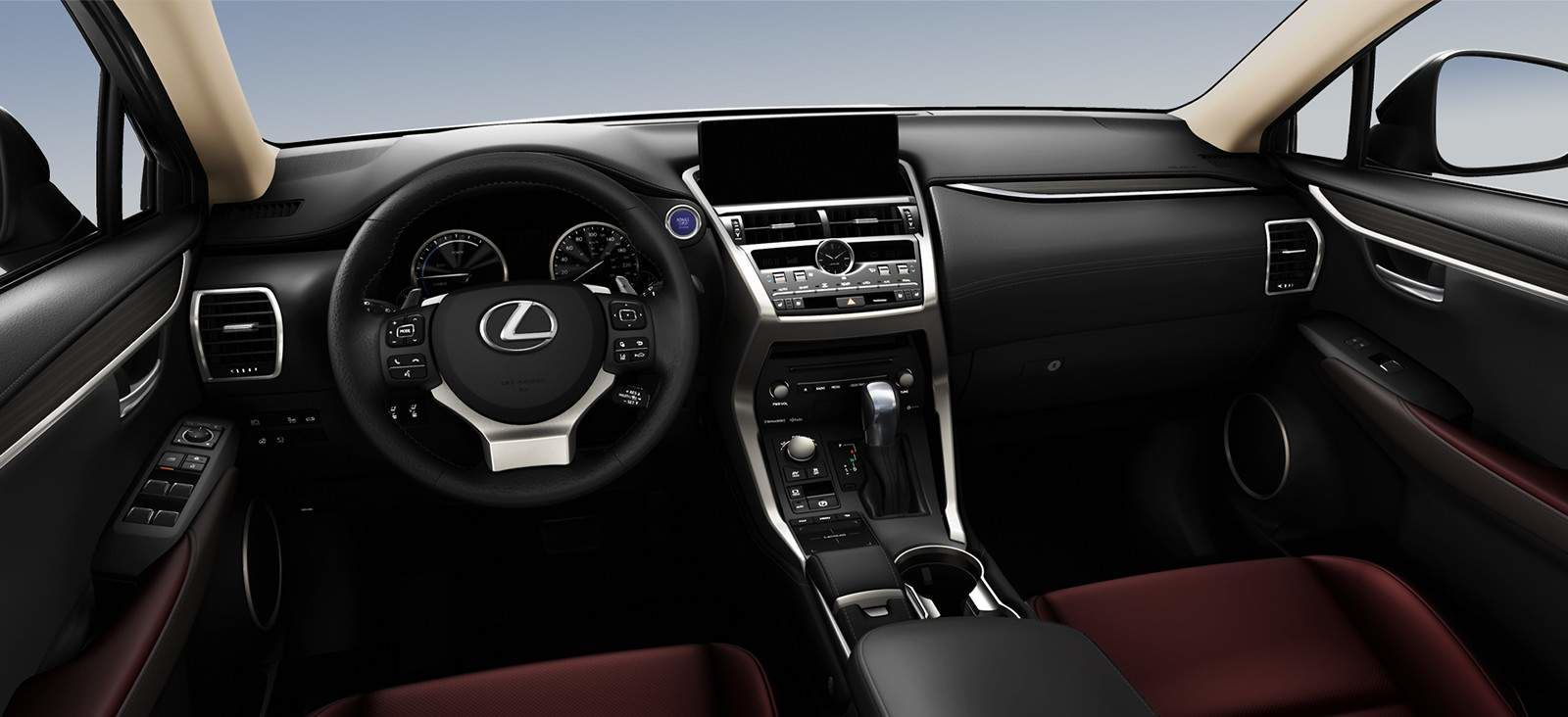 Lexus 2020 Nx 300h Dark Rose Interior L