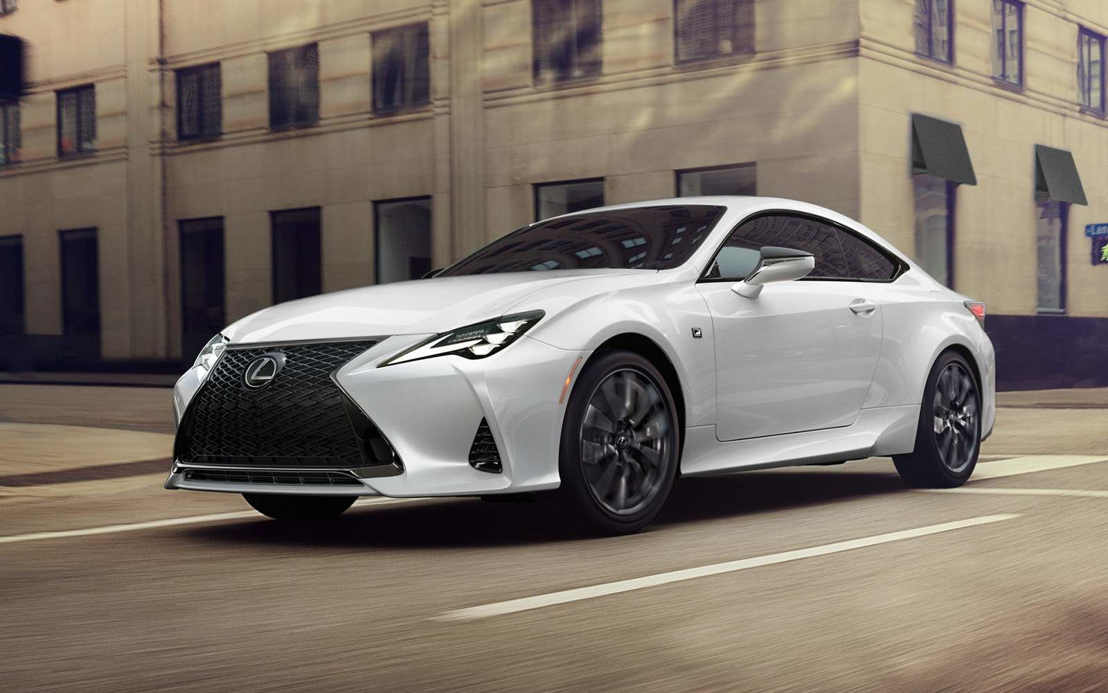 Lexus 2020 Rc 350 Ultra White Running L
