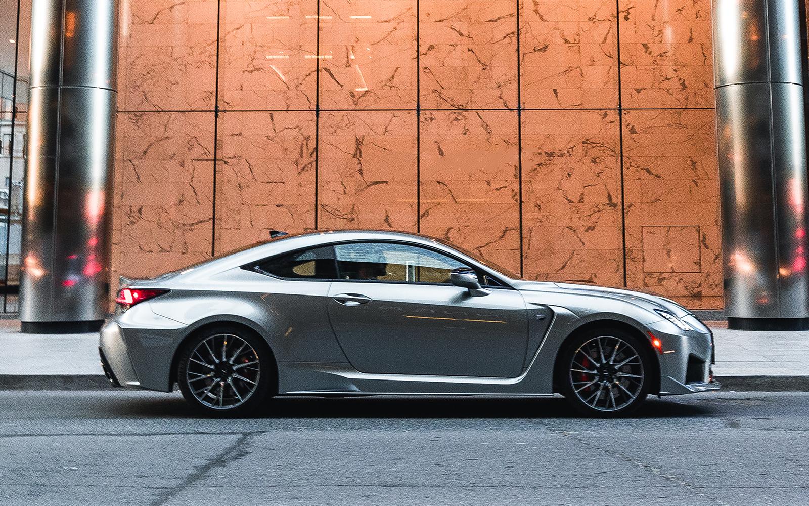 Lexus 2020 Rcf Atomic Silver Profile L