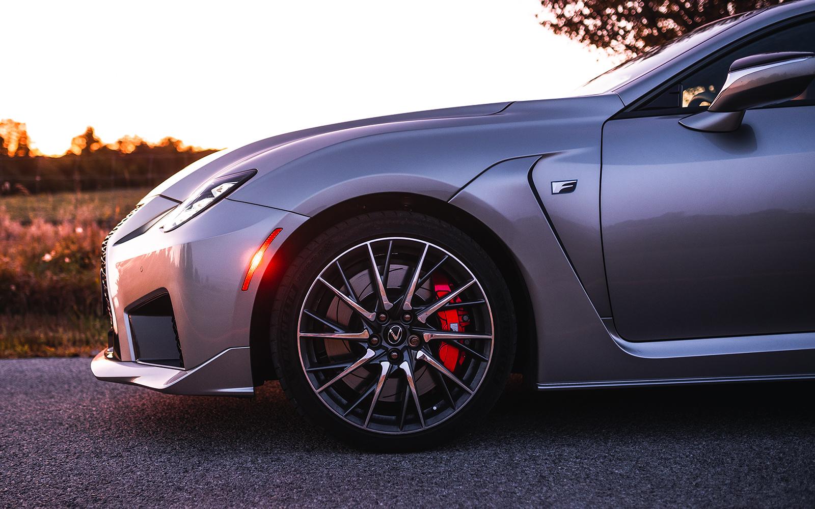 Lexus 2020 Rcf Atomic Silver Rim L