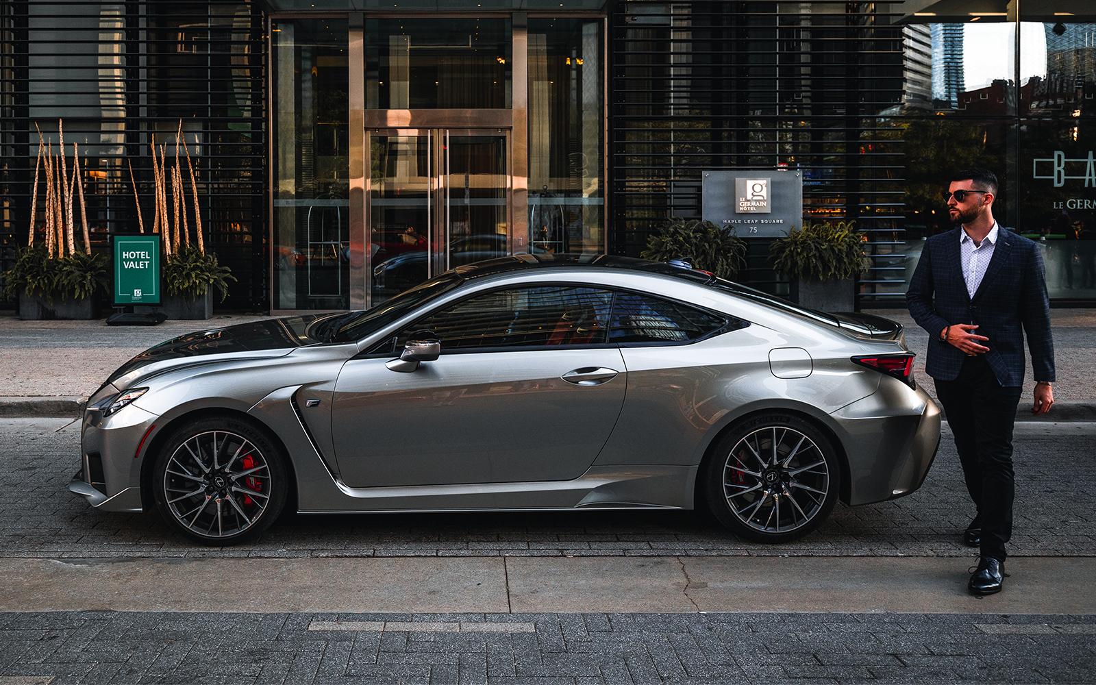 Lexus 2020 Rcf Base Atomic Silver L