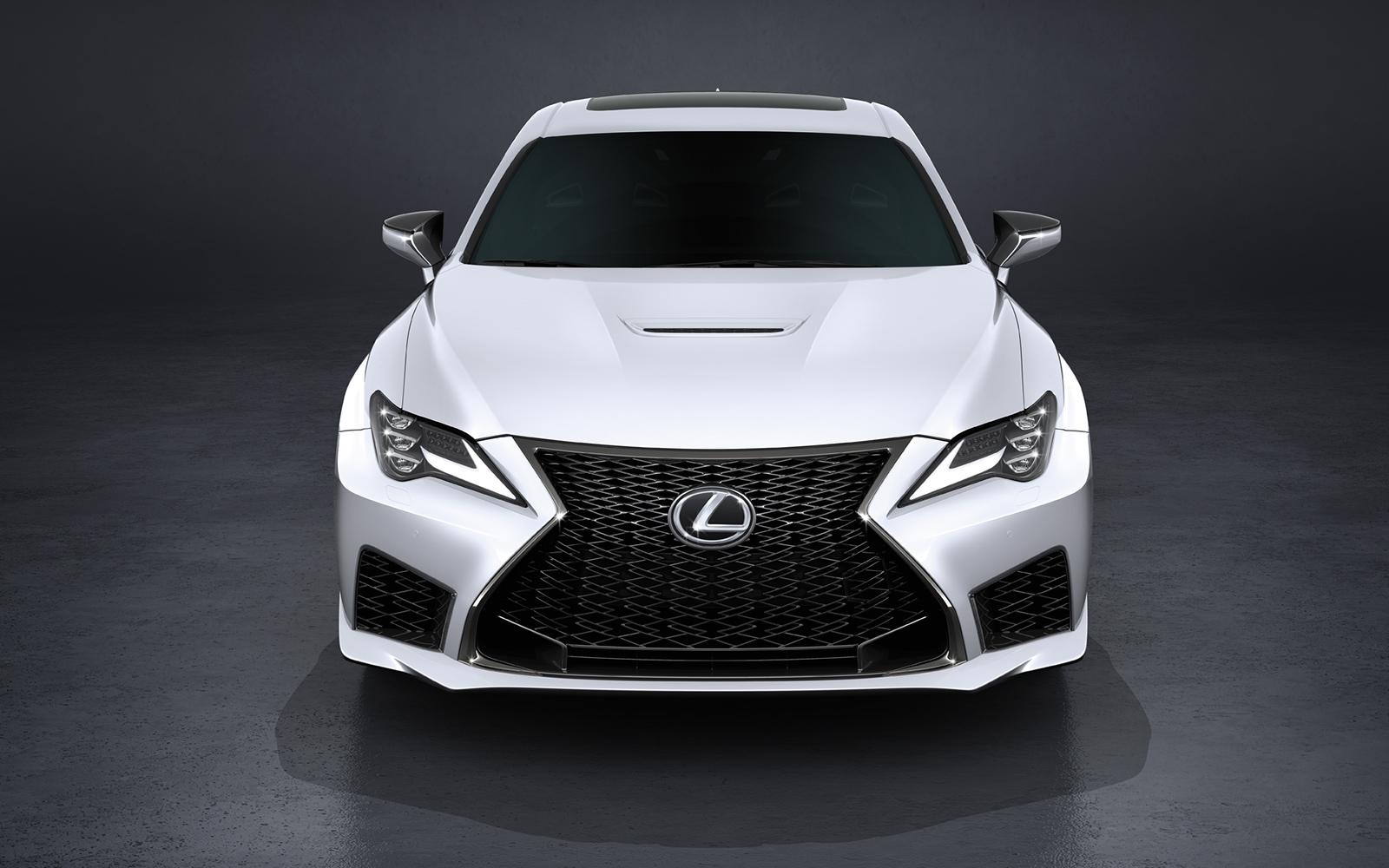 Lexus 2020 Rcf Base Ultra White Front L