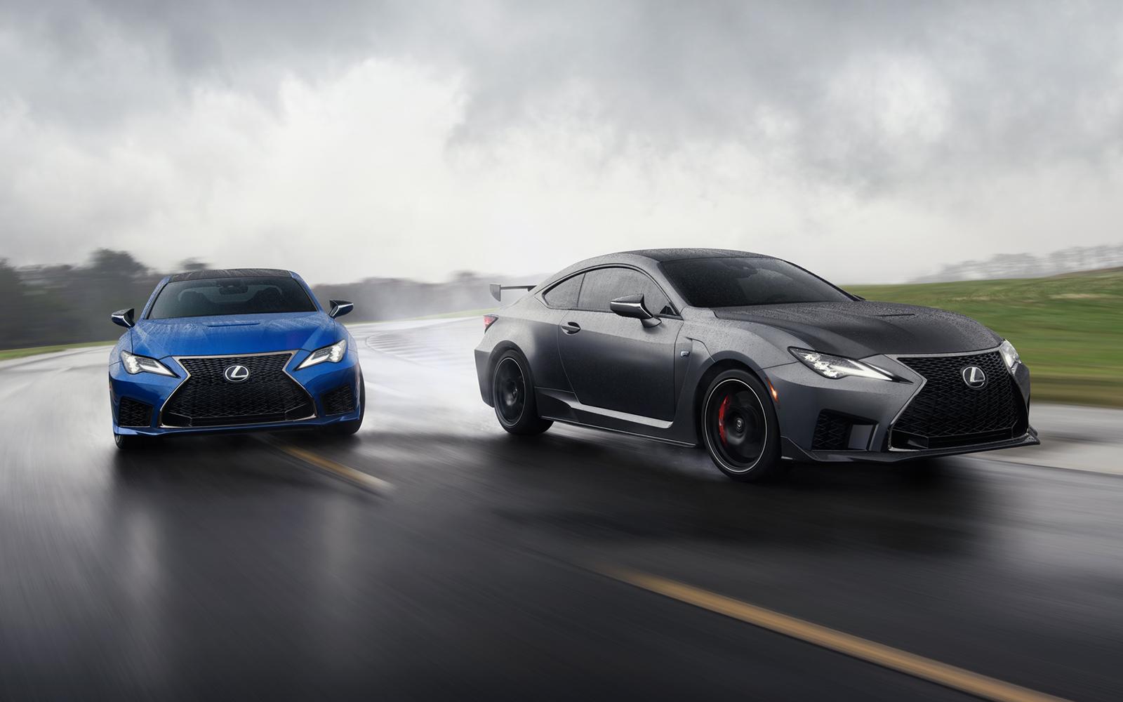 Lexus 2020 Rcf Base Ultrasonic Blue Mica 2.0 Track Matte Nebula Grey Lifestyle L