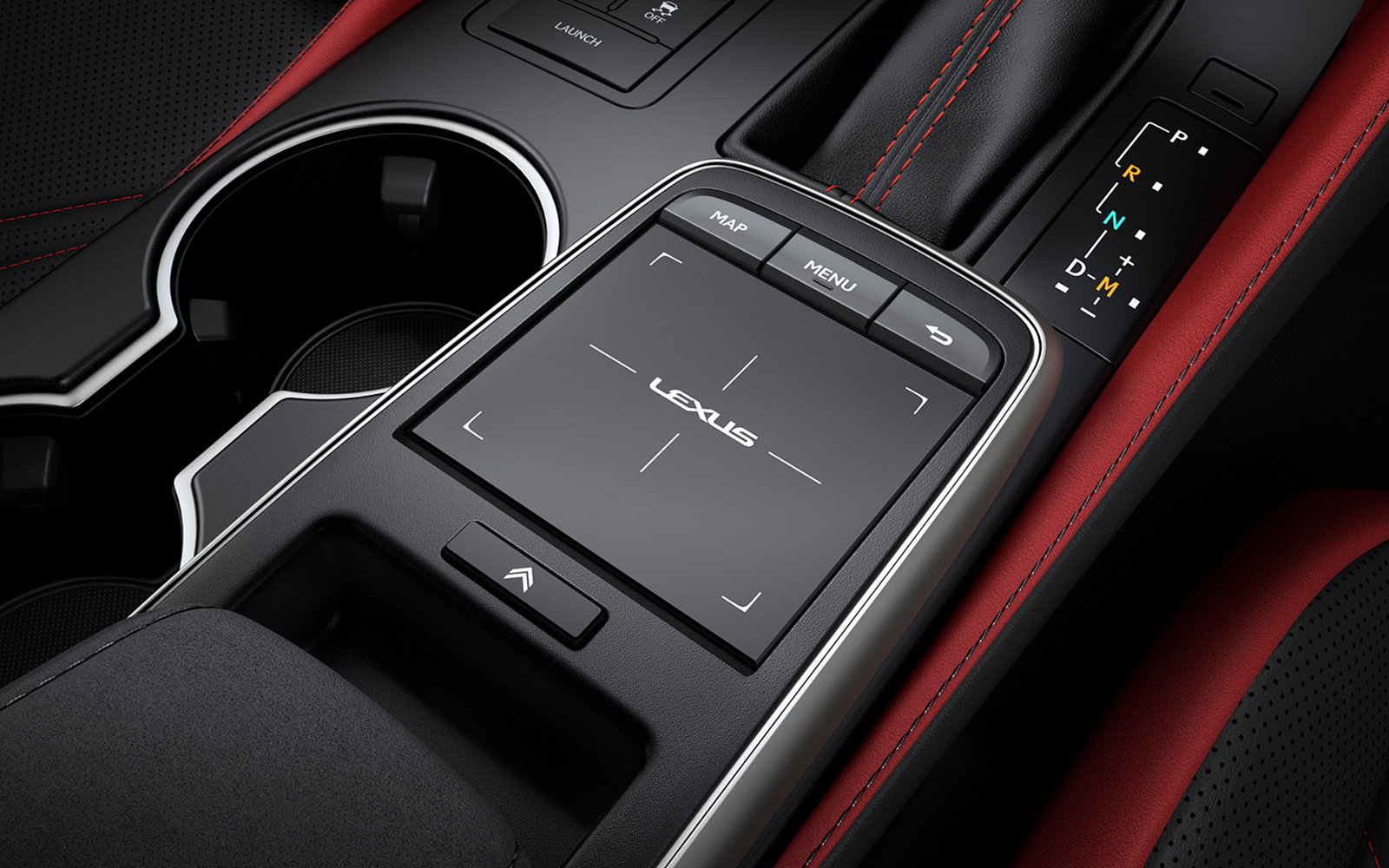 Lexus 2020 Rcf Interior Remote Touch Circuit Red L