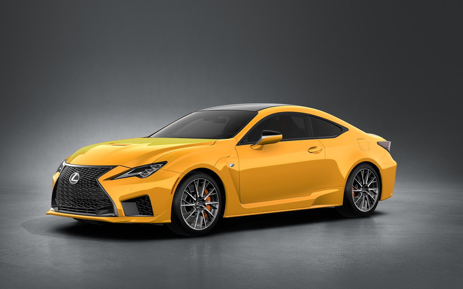 Lexus 2020 Rcf Performance Flare Yellow Front L
