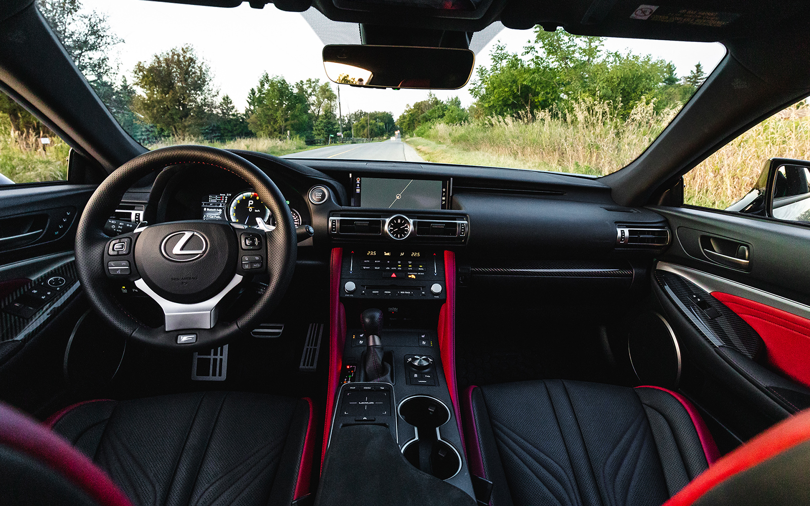 Lexus 2020 Rcf Red Leather Interior L