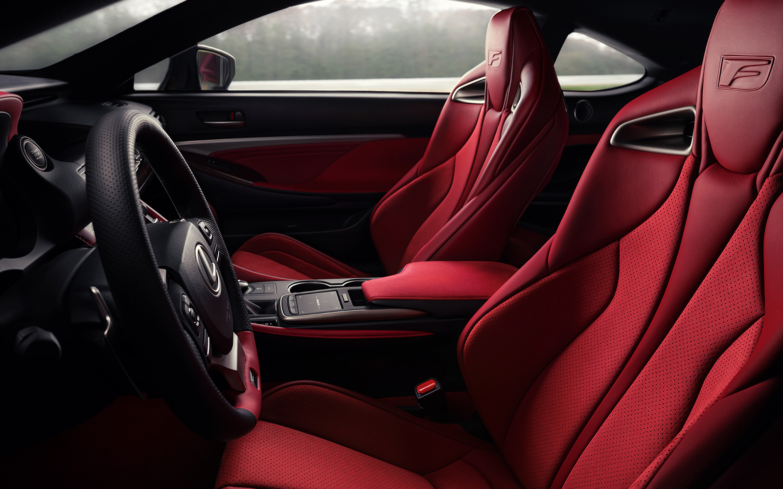 Lexus 2020 Rcf Track Red Interior Side L
