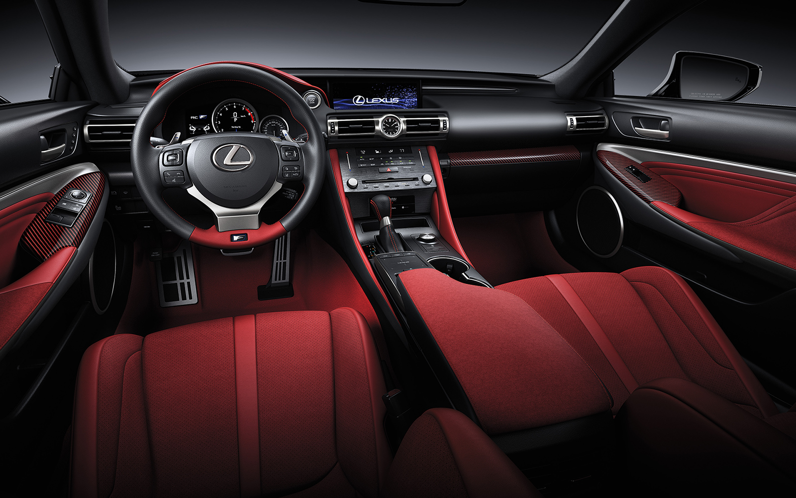 Lexus 2020 Rcf Track Red Interior Steering L