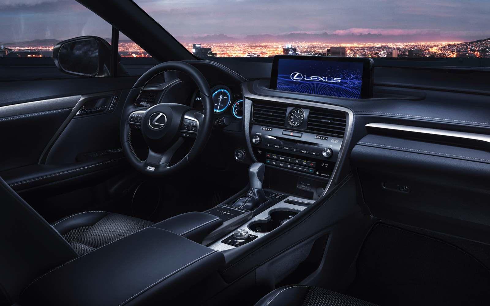 Lexus 2020 Rx350 Fsport Dashboard L