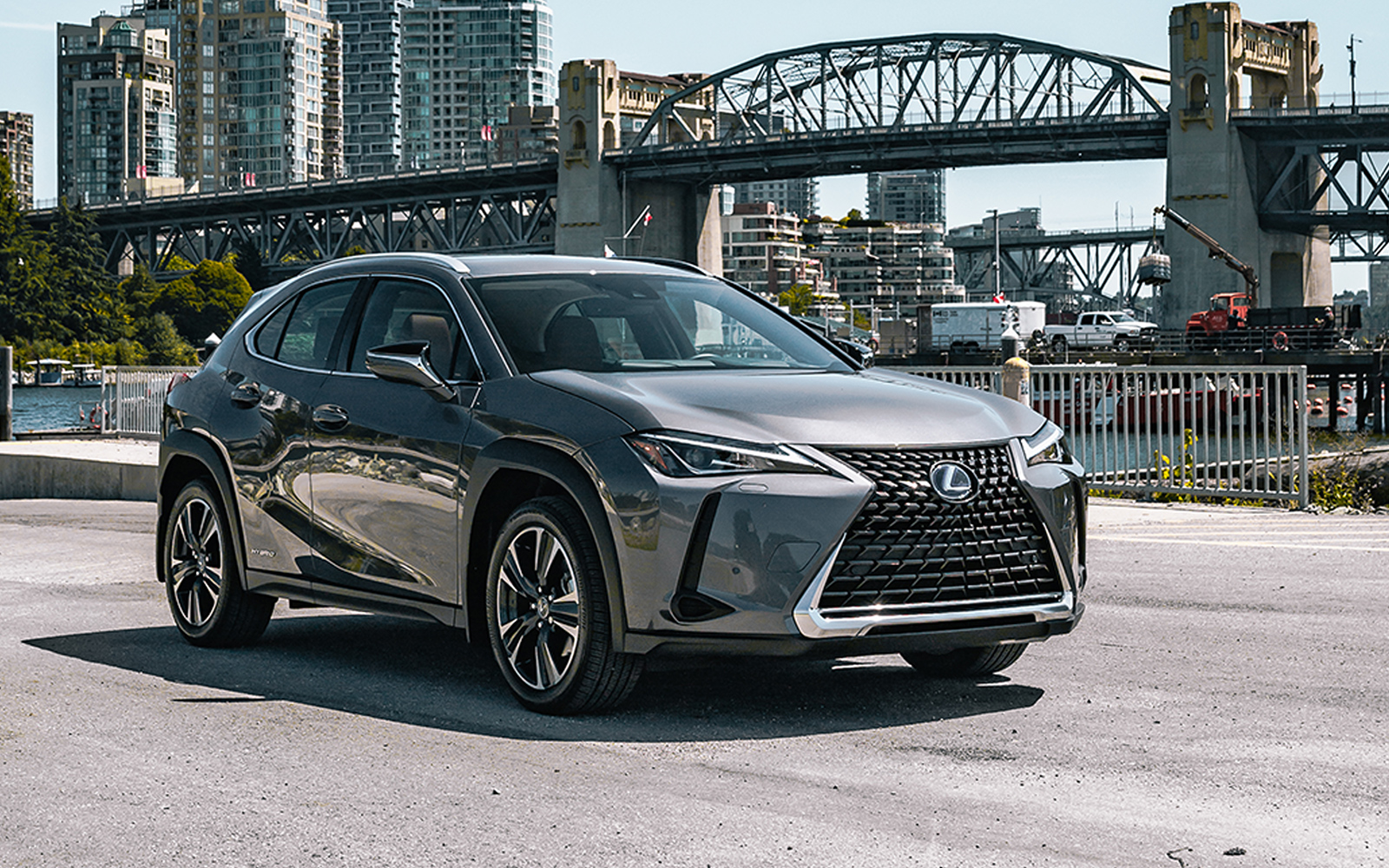 Lexus 2020 Ux 250h Awd Luxury Package Exterior Right L