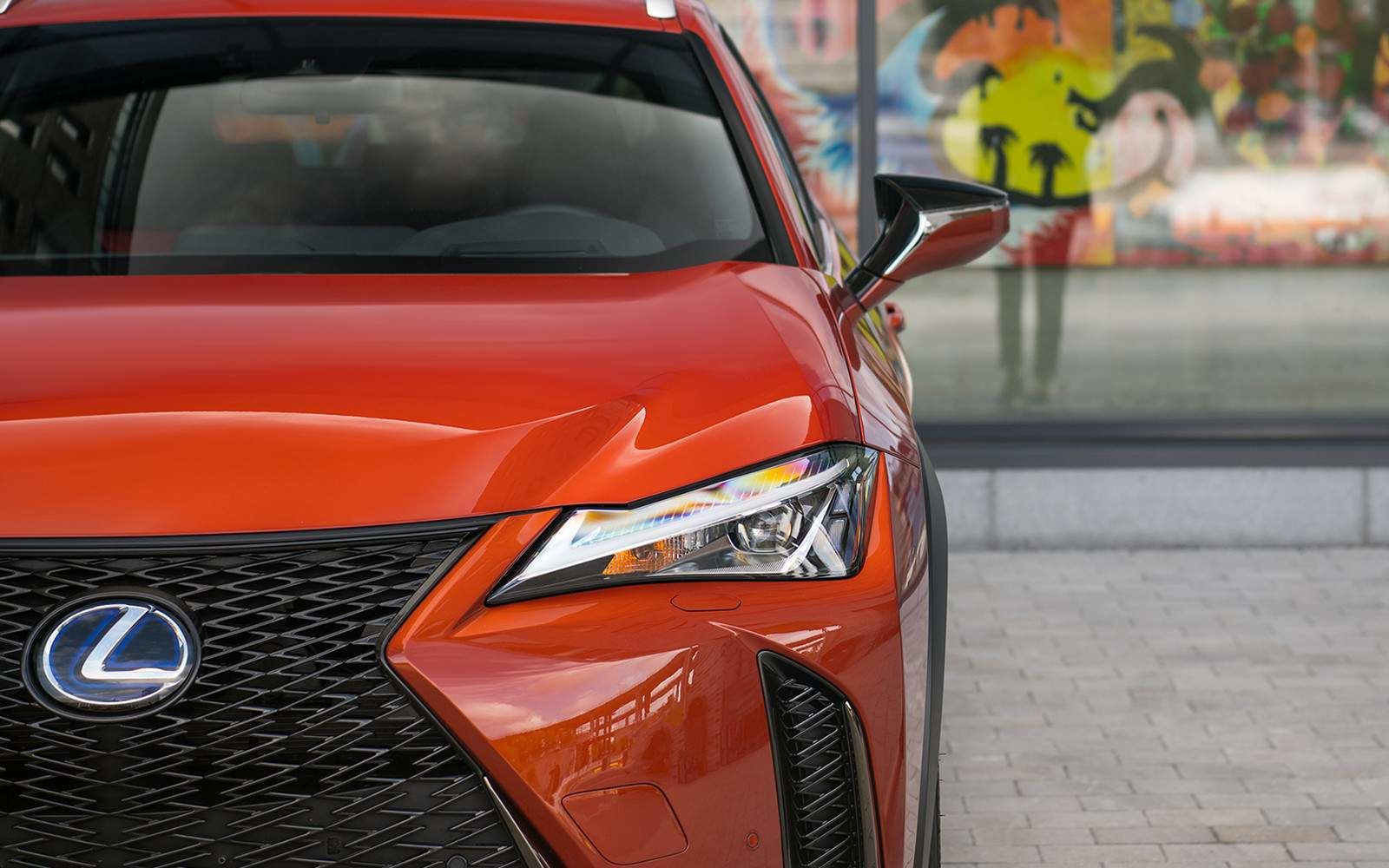 Lexus 2020 Ux 250h Fsport Cadmium Orange L