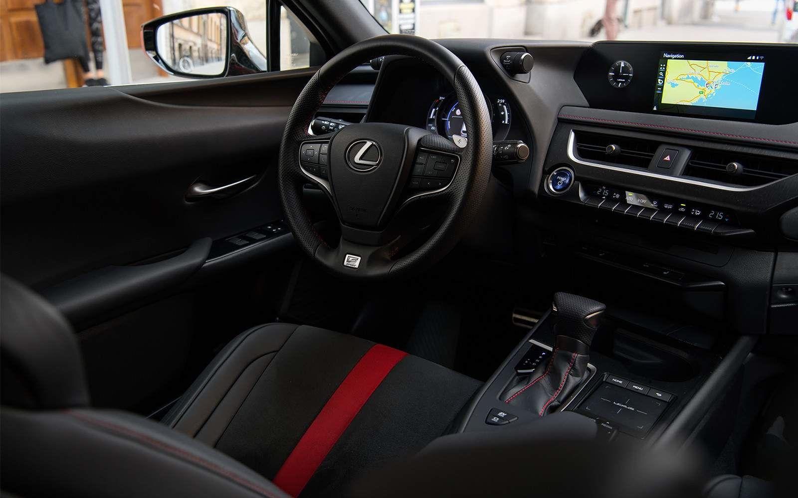 Lexus 2020 Ux 250h Fsport Interior Dash L