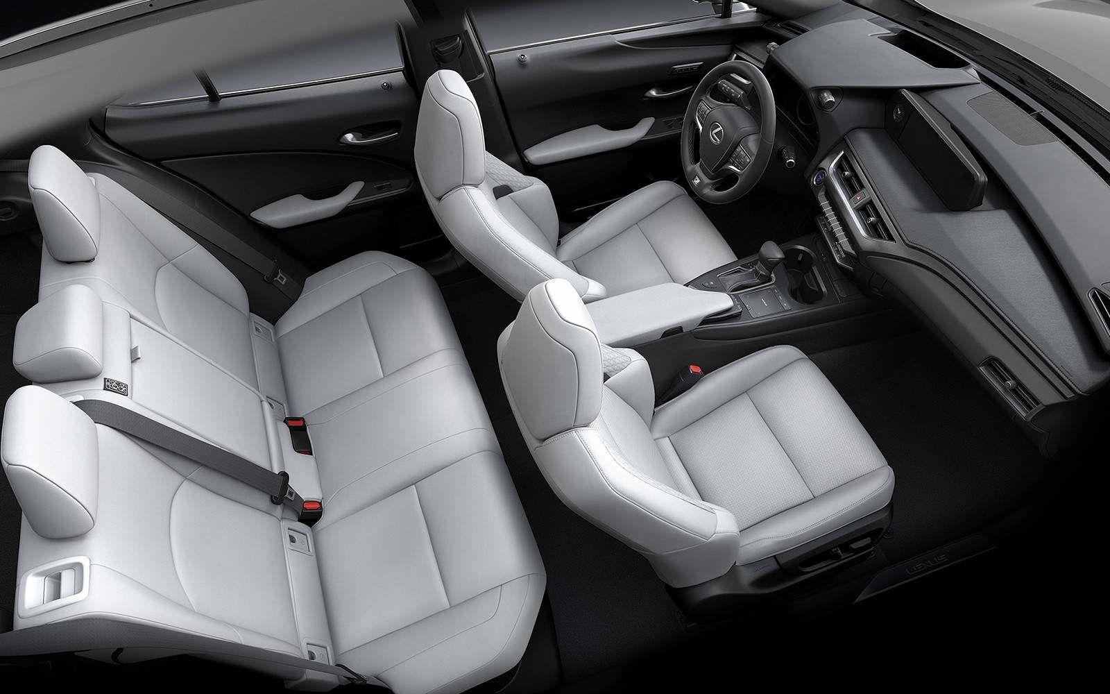 Lexus 2020 Ux 250h Interior White L